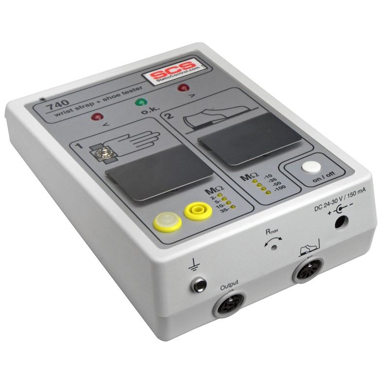 740E/740腕带/工鞋接地测试仪