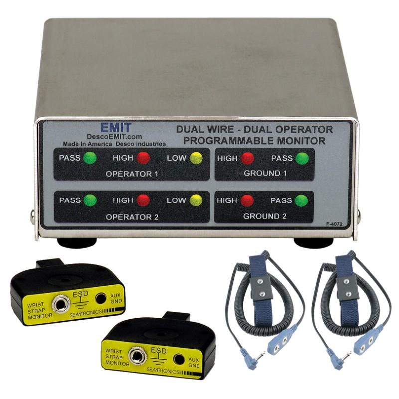 50522/50515/19665接地监测器(DPM)-监测双线手腕带