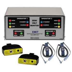 50528/ZVM1002接地监测器(ZVM)-监测双线手腕带